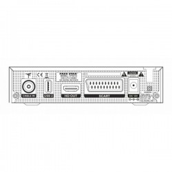 Цифров Комбиниран Кабелен И Ефирен Приемник PACO STAR CT9212 DVB-C, DVB-T/T2, IPTV, 12V Адаптер