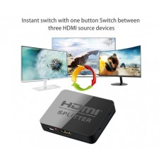 4K HDMI сплитер 1 към 2 за HDTV, DVD, PS3, Xbox