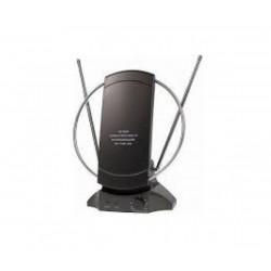 Вътрешна ТВ и FM антена с усилвател Cabletech ANT0020