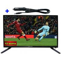 22 ИНЧА TV LED LCD CROWN 22133 12-220V + 12V АДАПТЕР