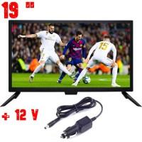 19 ИНЧА ТЕЛЕВИЗОР NORTHERN CROSS NC-T19, 12V, DVB-T2, LED