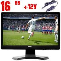 16 ИНЧА ТЕЛЕВИЗОР NVOX TV16, 12 V, DVB-T2