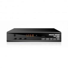 Комбиниран HD приемник Pacostar TSC1260, ефирен, кабелен, сателитен тунер, DVB-T/T2 + DVB-S/S2+ DVB-C, 12V