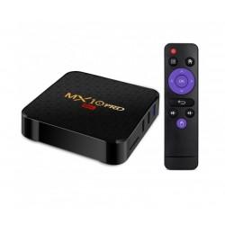 Мултимедиен плеър за гледане на безплатна ТВ и филми TV Box MX10 Pro, 6K, Android 9.0, Penta-Core mali-450, SDRAM 4GB, FLASH 32B, WiFi