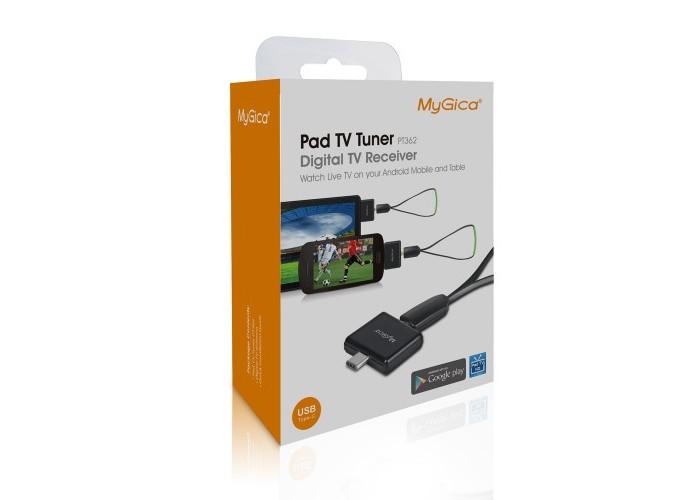 MYGICA PADTV PT362 DVB-T2 ТУНЕР ЗА ANDROID УСТРОЙСТВА, USB TYPE-C