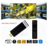 ANDROID TV STICK X96 X96S 4K, 4GB RAM, 32GB ROM, Wi-Fi, BLUETOOTH