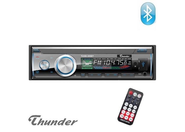 Авто Радио Thunder TUSB-309BT, Bluetooth, USB, SD, AUX, FM радио, 4x45W