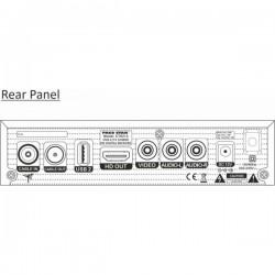 Цифров HD Приемник Paco Star CT6212 Combo, Комбиниран За Кабелна, Ефирна, IPTV Телевизия