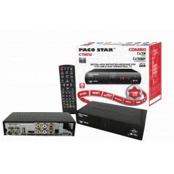 Комбиниран цифров HD приемник Paco Star CT6012 за Кабелна, Ефирна, IPTV телевизии