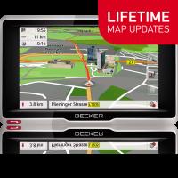 GPS НАВИГАЦИЯ BECKER ACTIVE 5 LIFETIME MAPS EU