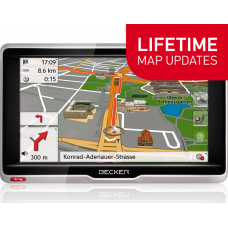 GPS НАВИГАЦИЯ BECKER ACTIVE 6 LIFETIME MAPS EU