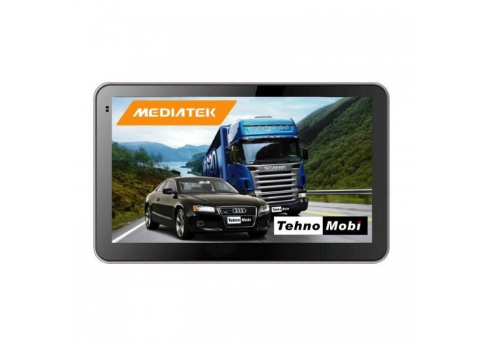 GPS НАВИГАЦИЯ MEDIATEK SILVER EU FM HD 800 MHZ 256MB RAM 8GB