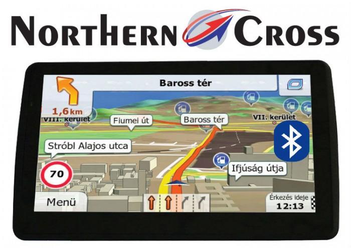 GPS НАВИГАЦИЯ NORTHERN CROSS NC-712S EU FM BT AV IN LIMITED EDITION