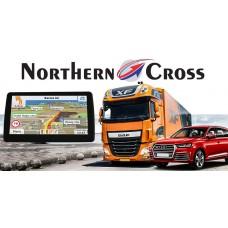 GPS НАВИГАЦИЯ NORTHERN CROSS NC-712S EU FM