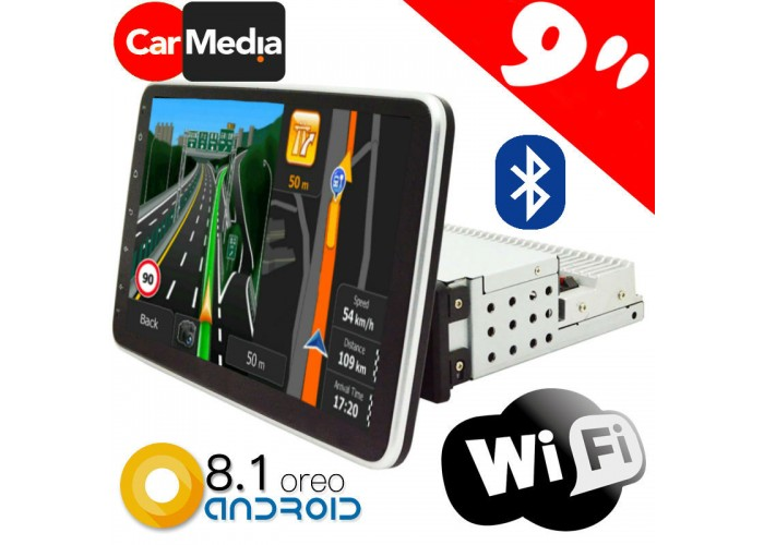 GPS МУЛТИМЕДИЙНА СИСТЕМА NORTHERN CROSS NC-Q19, ANDROID, 4G, WI-FI, BLUETOOTH, 9 ИНЧА