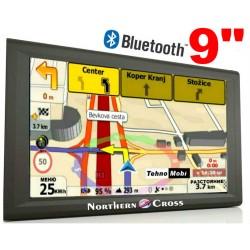 GPS НАВИГАЦИЯ NORTHERN CROSS NC-Q9, 9 ИНЧА, 256MB RAM, 800MHZ, BLUETOOTH