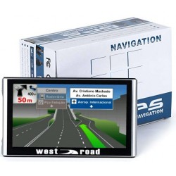 GPS НАВИГАЦИЯ WEST ROAD WR-7084S HD EU 800MHZ