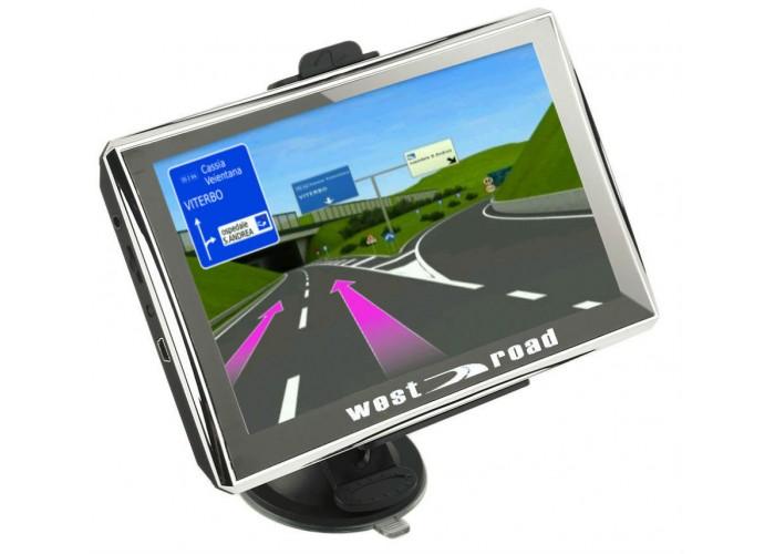 GPS НАВИГАЦИЯ WEST ROAD WR-S5256M 800 MHZ 256 RAM 8GB EU