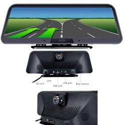 GPS НАВИГАЦИОННА МУЛТИМЕДИЙНА СИСТЕМА С ANDROID WEST ROAD WR-A101 CAM, 4G, WI-FI, 10 ИНЧА, ВГРАДЕН ВИДЕОРЕГИСТРАТОР, ЗАДНА КАМЕРА