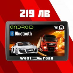 ANDROID GPS НАВИГАЦИЯ WEST ROAD WR-A7512 WI-FI FM BLUETOOTH