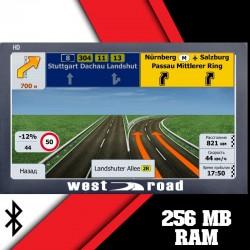 GPS НАВИГАЦИЯ WEST ROAD WR-X900EU BT AVIN FM HD 800 MHZ 256MB RAM 8GB