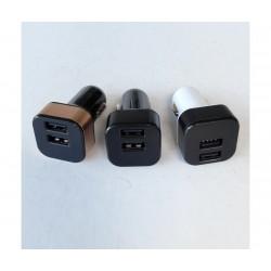 Волтметър за автомобил с 2 бр. USB зарядни за GSM HZ Car Charger
