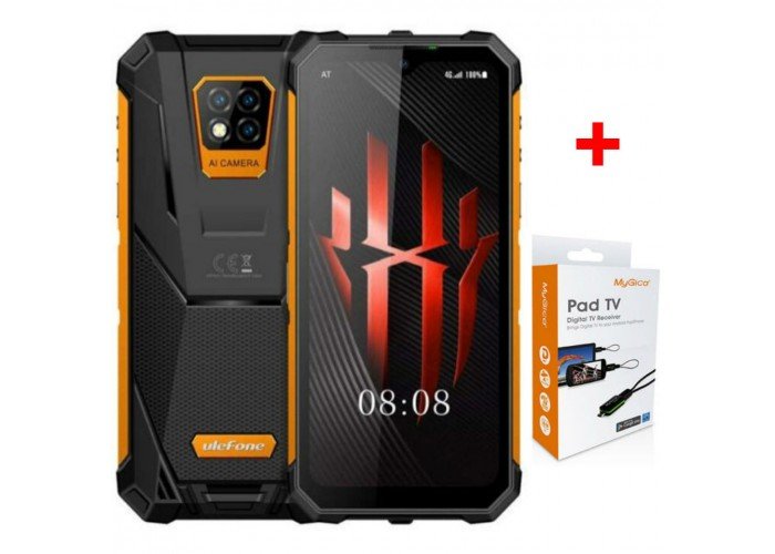 МОБИЛЕН ТЕЛЕФОН ULEFONE ARMOR 8 IP68/ IP69K + TV ТУНЕР