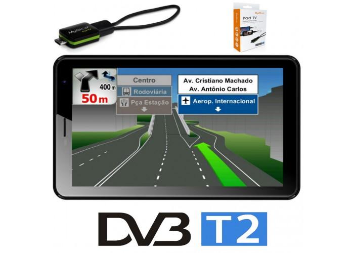 Таблет DIVA QC7704GM, 4G, 7 инча, Quad Core с Навигация Европа и TV Тунер