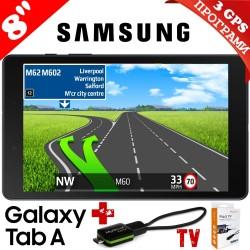 ТАБЛЕТ SAMSUNG SM-T290 GALAXY Tab A 8inch 32GB WiFi Black , НАВИГАЦИЯ ЕВРОПА, TV ТУНЕР